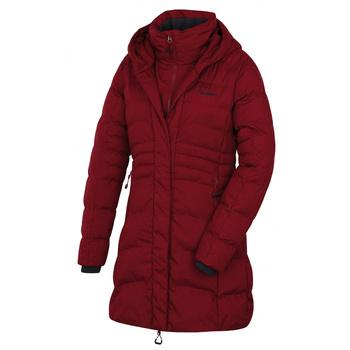 Damski płaszcz hardshell Husky Normy L Burgundia, Husky
