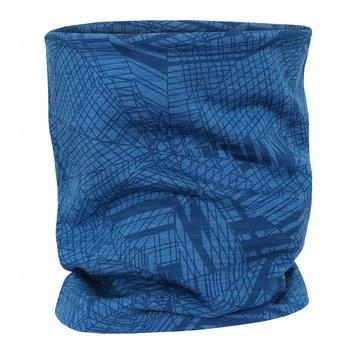 Wielofunkcyjny merino szalik Husky Merbufe niebieski, Husky