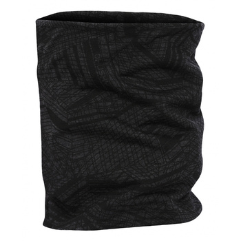 Wielofunkcyjny merino szalik Husky Merbufe czarny, Husky
