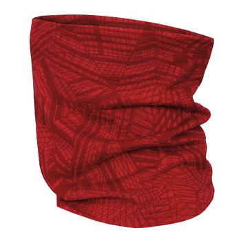 Wielofunkcyjny merino szalik Husky Merbufe czerwony, Husky