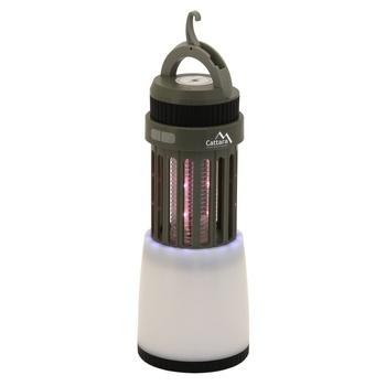 Cattara Lampa ŚLIWKA przesuwny do ładowania + pułapka na owady, Cattara