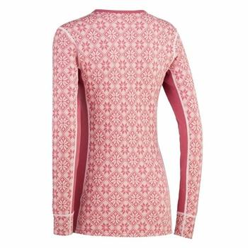 Koszulka Kari Traa Rose LS 622692, różowa, Kari Traa