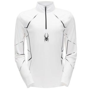Golf Spyder Men's Limitless Lines Dry WEB T-Neck 181539-100, Spyder