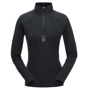 Golf Spyder Women's Shimmer Bug Velour Fleece T-Neck 182342-001, Spyder