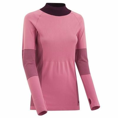 Sportowa koszulka damska z długim rękawem Kari Traa Sofia 622041, różowa