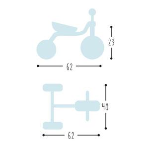 Rowerek trójkołowy PUKY FITSCH czerwona 2513, Puky