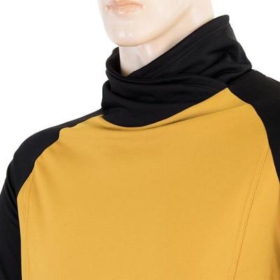 Męska bluza Sensor Coolmax Thermo musztardowy / czarny 20200049, Sensor