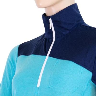 Damskie koszulka Sensor Merino Extreme ciemnoniebieski / niebieski, Sensor