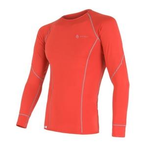 Męskie koszulka Sensor Coolmax Fresh czerwone 11101004, Sensor