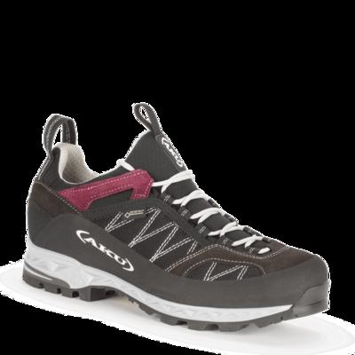 Damskie buty AKU Tengu Low GTX czarny / bordowy, AKU