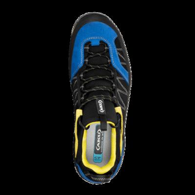 Męskie buty AKU Tengu Low GTX czarny / niebieski / żółty, AKU