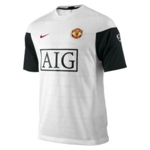 Koszulka  Nike FC Manchester United SS Training Top 355099-100, Nike