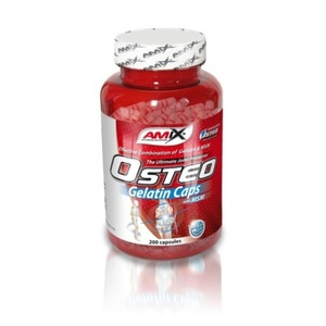 Amix Osteo Gelatin + MSM Caps 200 kapsułek, Amix