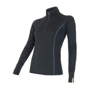 Damskie koszulka Sensor Merino Wool Active czarne 11109018