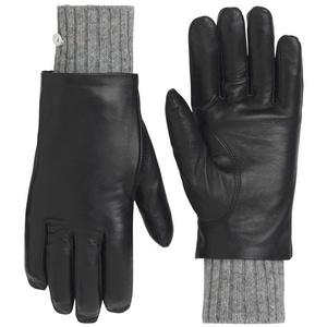 Damskie skóra rękawice Kari Traa Gjerde Black, Kari Traa