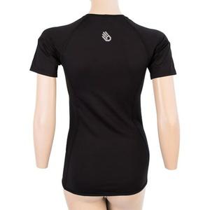 Damskie koszulka Sensor Coolmax TECH krótki rękaw czarny 20100021, Sensor