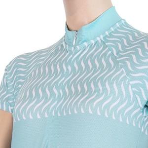 Damski rowerowy bluza Sensor WAVE krótki rękaw mint 20100060, Sensor