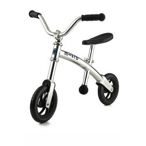 Rowerek bez pedałów Micro G-Bike Siekacz Silver, Micro