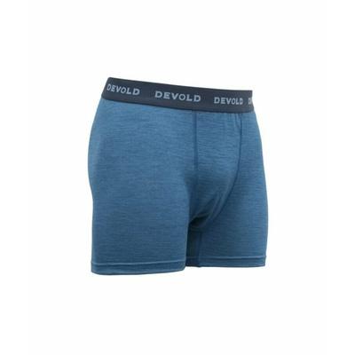 Męskie lekkie, wygodne bokserki wełniane Devold Breeze GO 181 145 A 258A, niebieski, Devold
