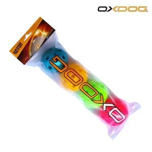 Zestaw unihokejowych piłeczek Oxdog Rotor Ball Color Tube, Oxdog