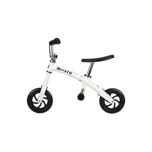 Rowerek bez pedałów Micro G-Bike Siekacz White, Micro