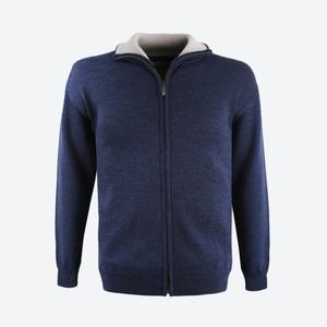 Merino Sweter Kama 4107 108 niebieska, Kama