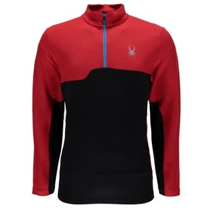 Golf Spyder Pinnacle Merino Half Zip T-Neck 417063-600, Spyder