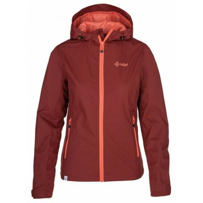 Damska kurtka outdoorowa Kilpi ORLETI-M ciemnoczerwony, Kilpi