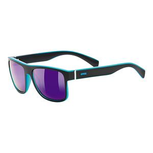 Przeciwsłoneczna okulary Uvex LGL 21 Black Mat. Blue/Mirror Blue (2214), Uvex