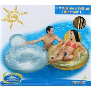 Nadmuchiwana materac Intex z oparciem, Intex