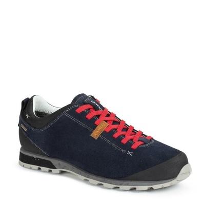 Męskie buty AKU Bellamont Suede GTX ciemno. niebieski czerwony, AKU