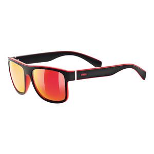 Przeciwsłoneczna okulary Uvex LGL 21 Black Mat Red (2213), Uvex