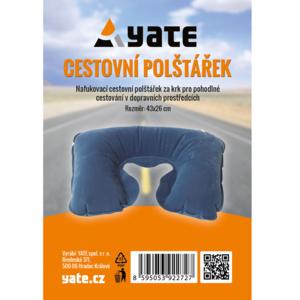 Poduszka Yate nadmuchiwane za szyję niebieski, Yate