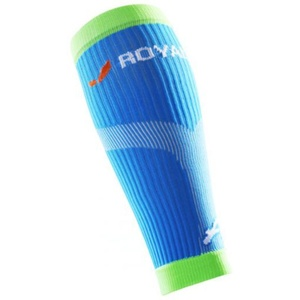 Kompresyjne łytkowe Ochraniacze na buty ROYAL BAY® Neon Blue 5699, ROYAL BAY®