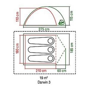 Namiot Coleman Darwin 3, Coleman