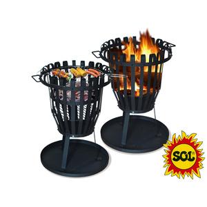 Okrągły ognisko SOL kosz 50 cm, Lucifer