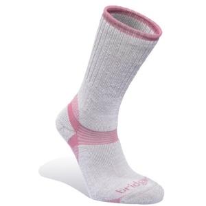 Skarpety Bridgedale Merino Hiker Women's grey/pink/808