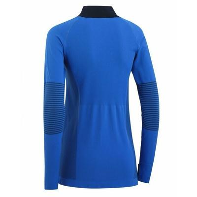 Damskie sportowa koszulka z długim rękawem Kari Traa Sofie 622041, niebieska, Kari Traa
