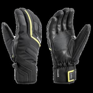 Narciarskie rękawice LEKI Falcon 3D black/lime