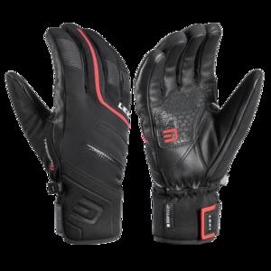 Narciarskie rękawice LEKI Falcon 3D black/red