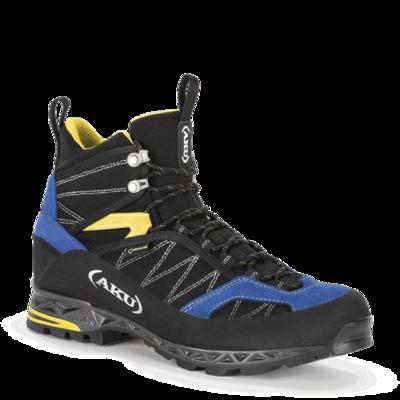 Męskie buty AKU Tengu Lite GTX czarno, niebiesko, żółte, AKU