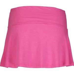 Damska elastyczny dzianina spódnica NORDBLANC Frill NBSSL6675_RUZ, Nordblanc