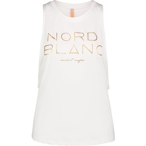 Damskie podkoszulka do jogi NORDBLANC Szeroki NBSLF6694_BLA, Nordblanc