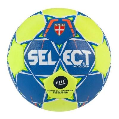 Piłka do piłki ręcznej Select HB maxi grip niebiesko-żółty, Select