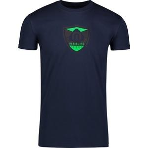 Męskie bawełna koszulka NORDBLANC Crest NBSMT6814_TEM, Nordblanc