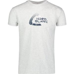 Męskie bawełna koszulka NORDBLANC Remiss NBSMT6815_SSM, Nordblanc