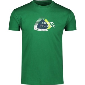 Męskie bawełna koszulka NORDBLANC Remiss NBSMT6815_ZME, Nordblanc