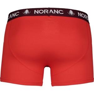Męskie bawełna bokserki Nordblanc Głębokość czerwona NBSPM6865_CVN, Nordblanc