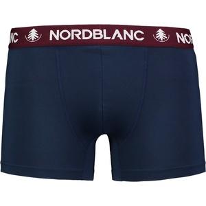 Męskie bawełna bokserki Nordblanc Głębokość niebieska NBSPM6865_TEM, Nordblanc