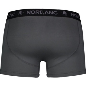 Męskie bawełna bokserki Nordblanc Głębokość siwy NBSPM6865_TSD, Nordblanc
